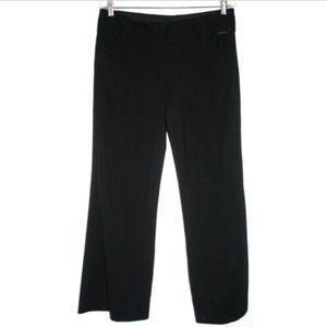 New York & Co Womens Size 8 Pants Black Straight